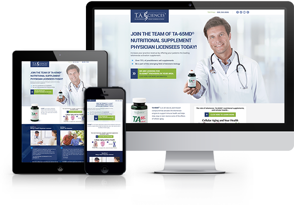 Website Design for Medical Device and Product Manufacturers