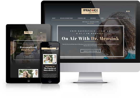 Concierge Medicine Website Design