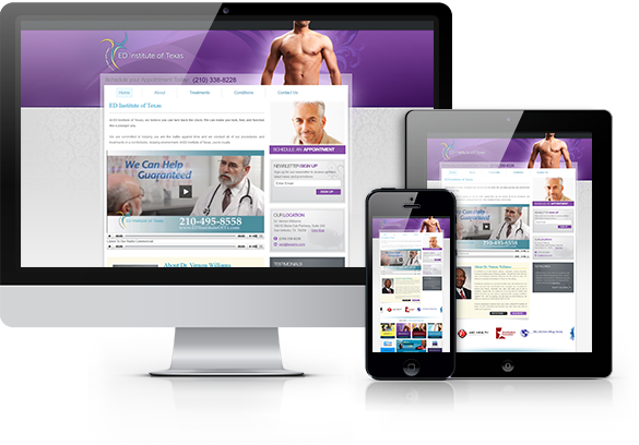 Fertility Medicine Website Design