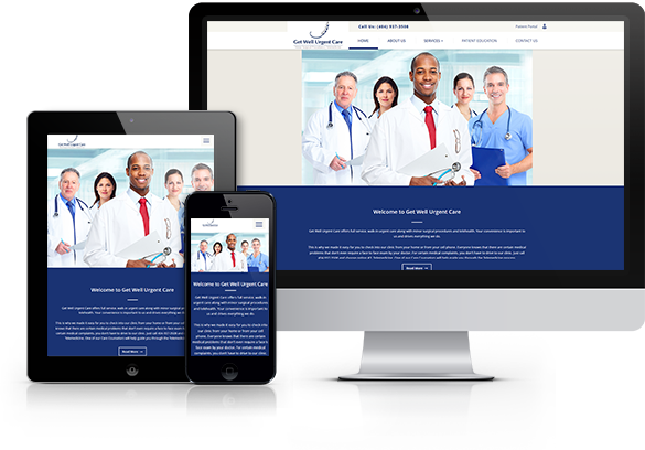 Urgent Care Website Design