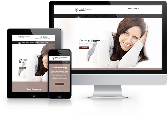Dermatology Website Design