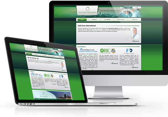 Website Design for Medical Service Companies