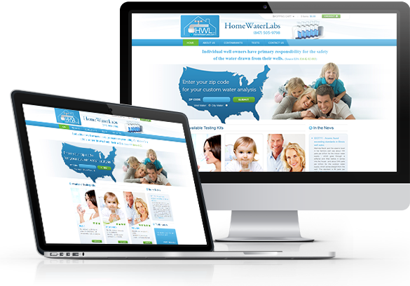 Medical E-Commerce Website Design - WebToMed, LLC