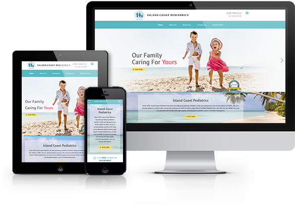 Pediatric Website Design