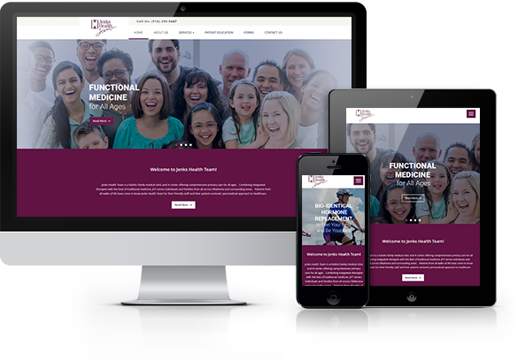 Functional Medicine Website Design