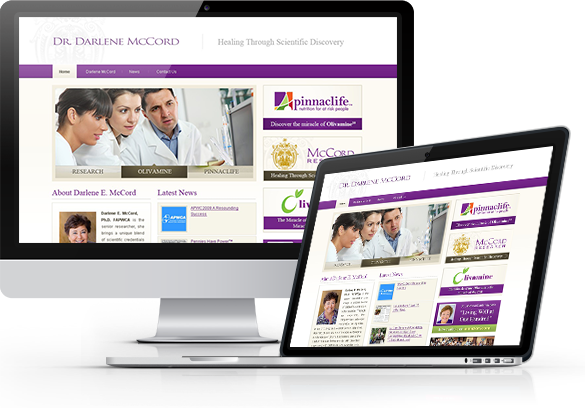 Website Design for Medical Research Companies