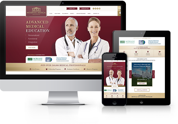 Website Design for Medical Organizations