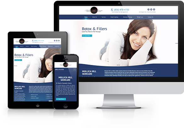 Med Spa Website Design