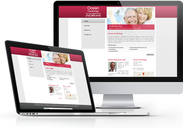 Cardiology Website Design