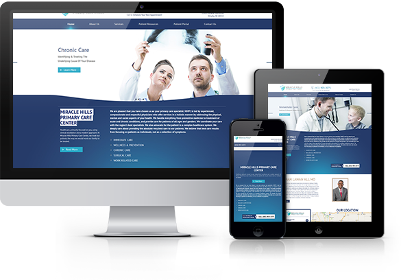 Internal Medicine Website Design
