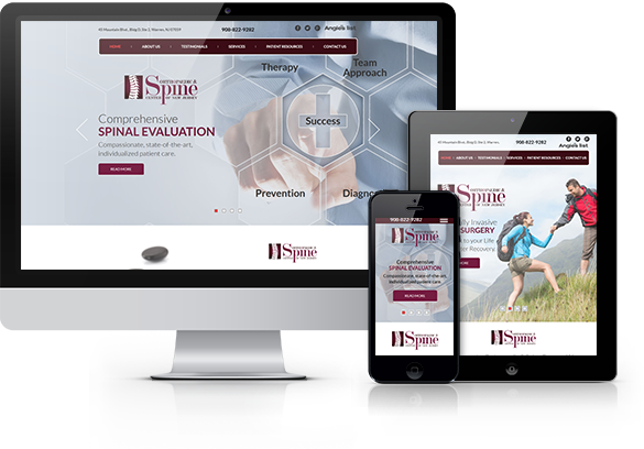 Orthopedic Website Design