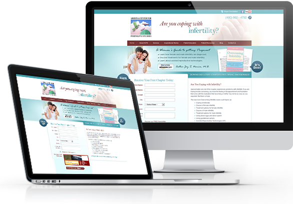 Medical Book Website Design