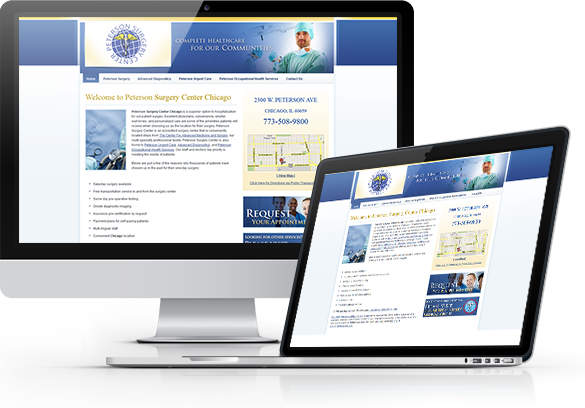 Surgery Website Design