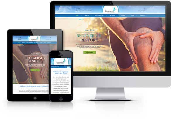 Pain Management Website Design