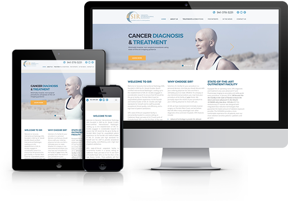 Radiology Website Design