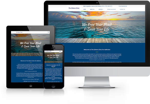 Drug Rehab Website Design