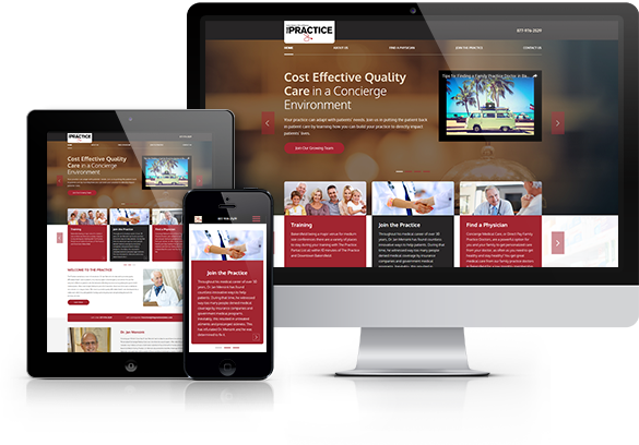 Medical Franchises Website Design