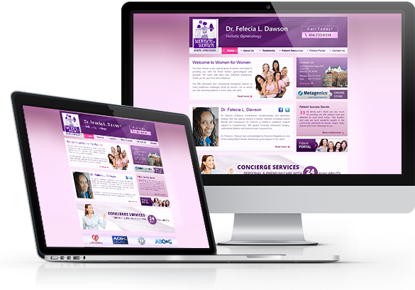 OB GYN Website Design